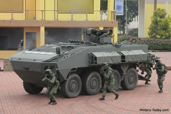 The Philippine S Options For New Tanks Amp Wheeled Ifvs For