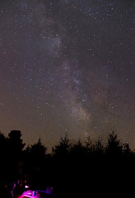 Milky way taken with Canon XSi on Tripod