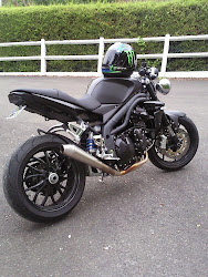 My speed triple by Triumph