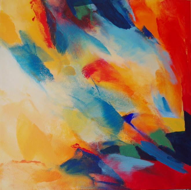 Nieuw schilderij. Acryl op doek. 50 x 50cm Sepember 2011