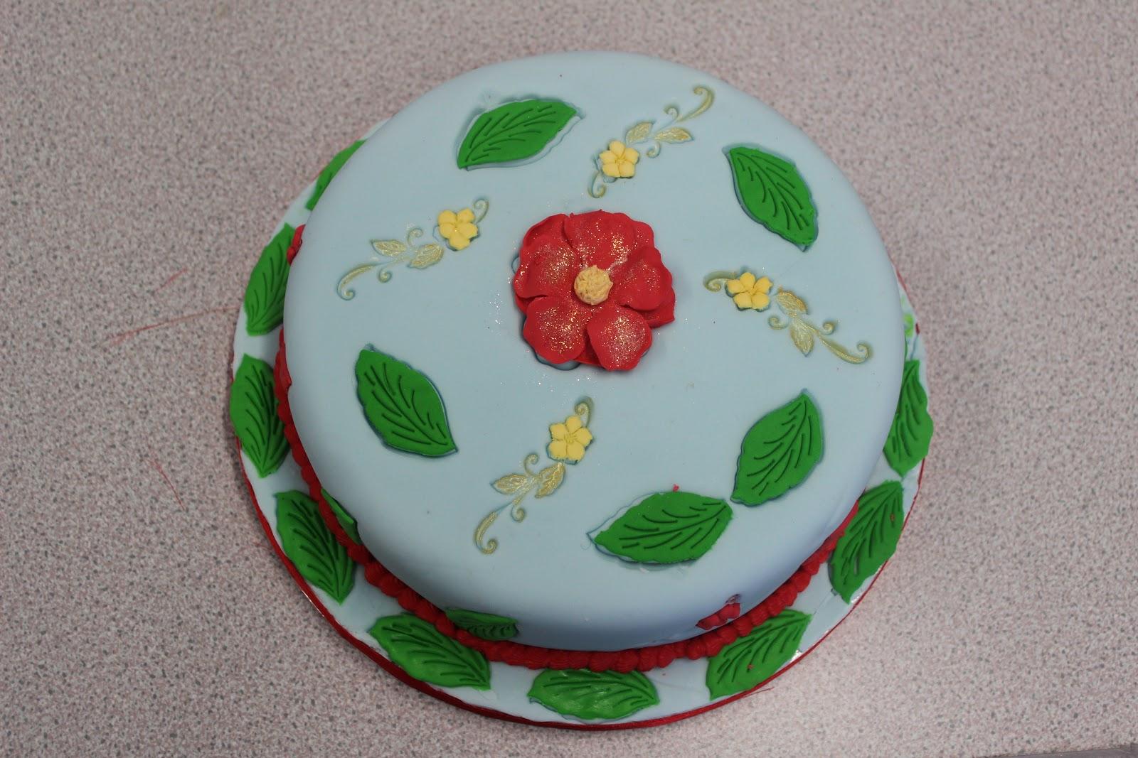 Cake And Art Decor Centre : Flour Power Cake Journey: Christmas Cake Decorating at ...