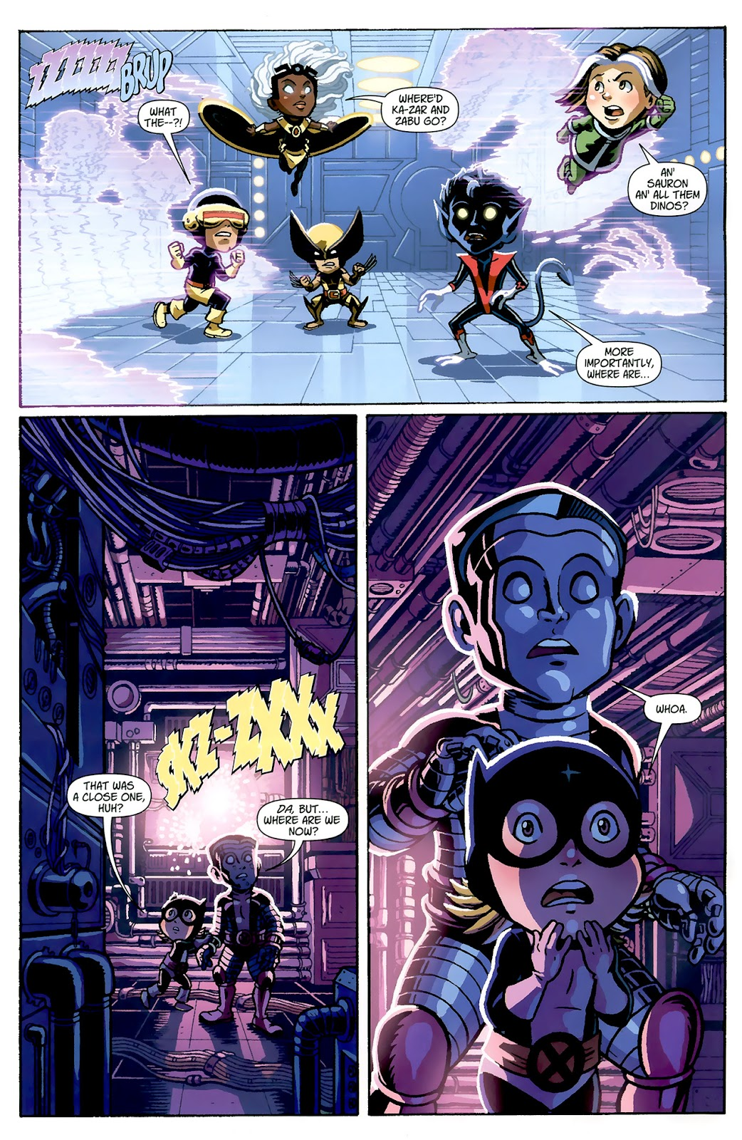 Read online X-Babies comic -  Issue #1 - 8