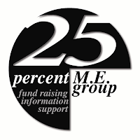 Visit the 25% Group website to find out more about how this charity is helping people with ME in the uk!