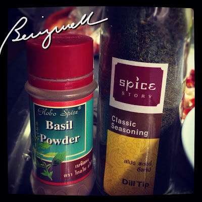 Cooking Pasta with Basil and Dill