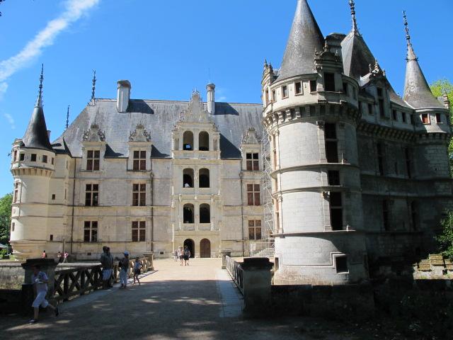 Castillos del valle del loira castillo de azay le rideau - Castillo de azay le rideau ...