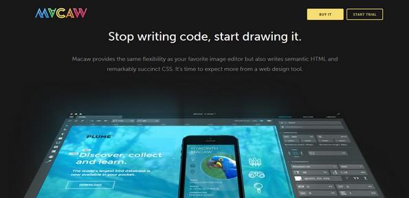Macaw web design tool