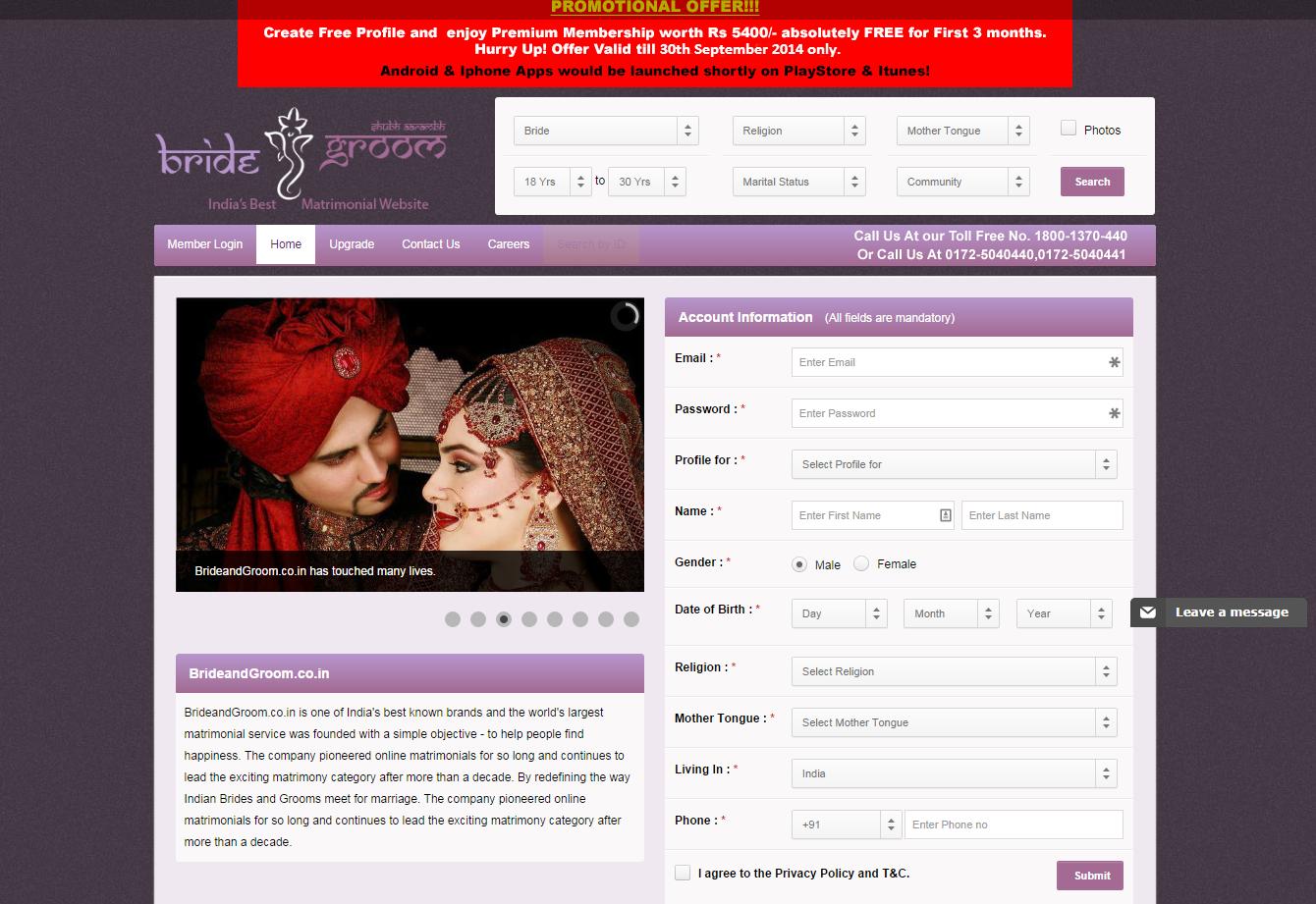 Best international marriage sites