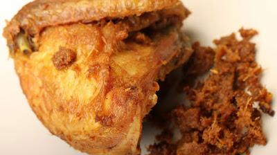 resep ayam goreng bumbu padang
