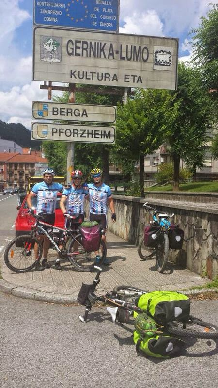 Bicigrinos extreme os camino del norte etapa 2 zumaia - El tiempo gernika lumo ...