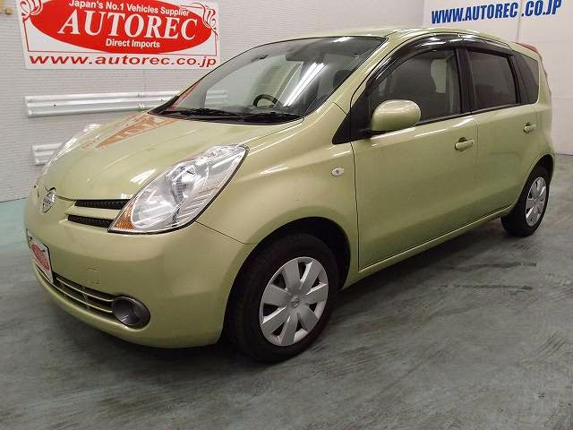 19518a7n6 2007 Nissan Note 15m For Namibia To Walvis Bay Japanese Vehicles To The World