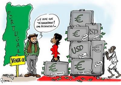 Clã Eduardo dos Santos compra Portugal com petróleo de sangue roubado ao Povo