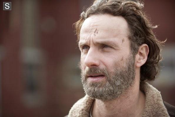 """Rick en el  final de la cuarta temporada de """"The Walking Dead"""""""