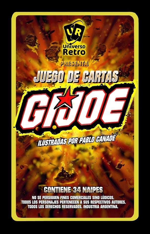 NUEVO JUEGO DE CARTAS DE G.I.JOE DE UNIVERSO RETRO