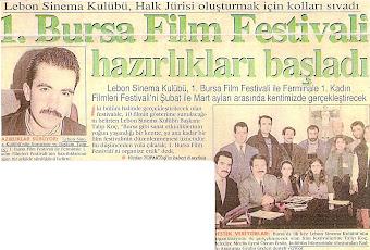 1.Bursa Film Festivali / Halk Jürisi Üyeleri-Eğitim Seminerleri