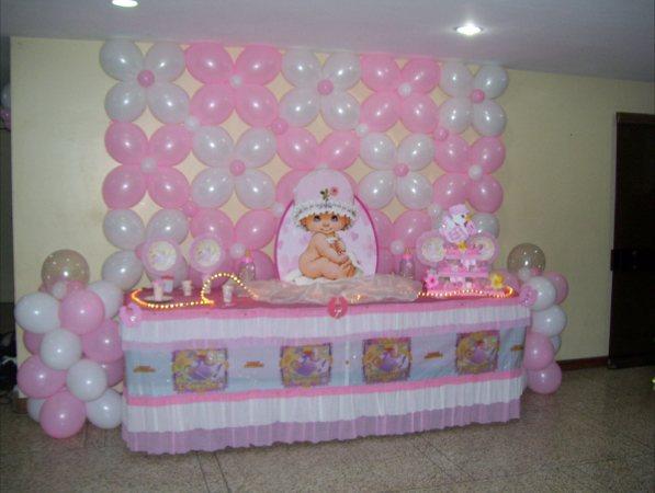 Mesa decorada para baby shower - Imagui
