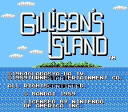 Gilligan's Island Title Screen
