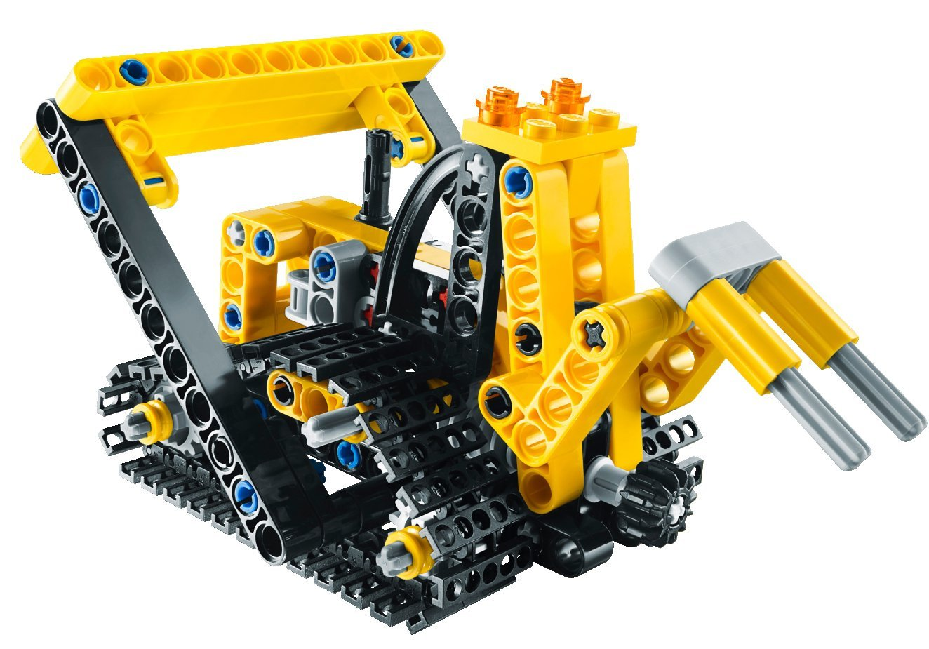lego technic tracked crane 9391 my lego style. Black Bedroom Furniture Sets. Home Design Ideas