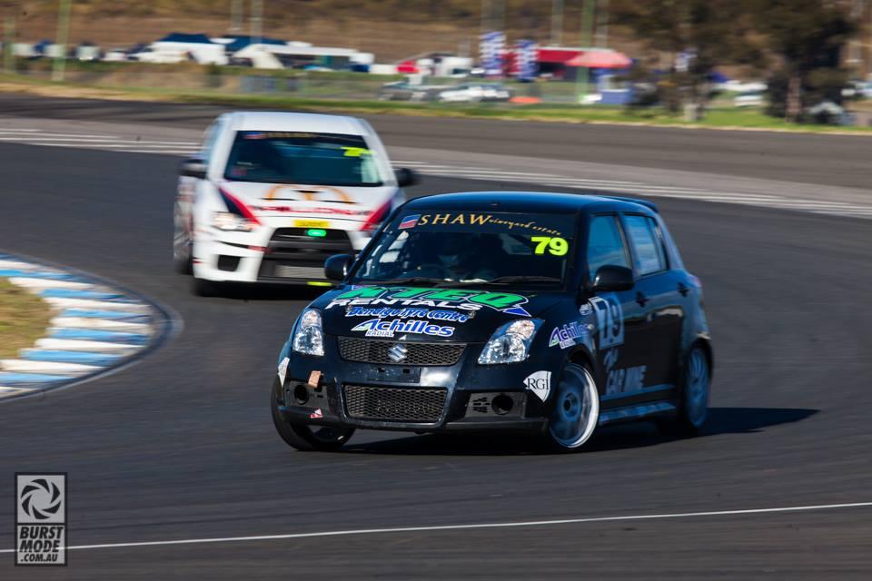 Australian Swift Racing Series, niedrogie samochody do wyścigów, Swift