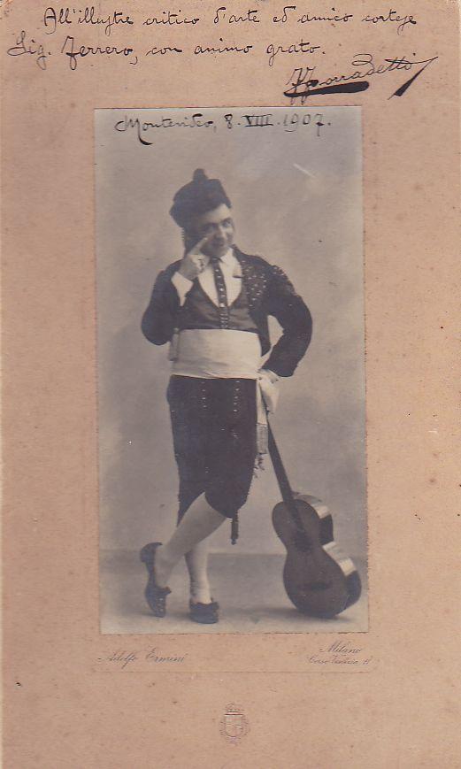 ITALIAN BARITONE FERRUCCIO CORRADETTI (1867-1939) CD