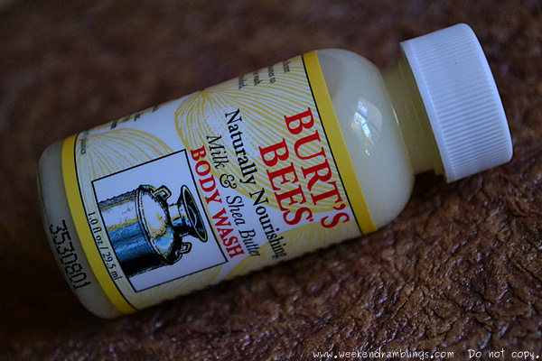 Burts Bees Naturally Nourishing Milk Shea Butter Body Wash Dry Skin Moisturizer