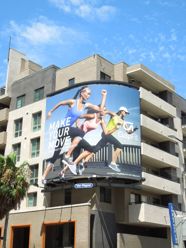 Make Your Move Gap Fit Summer 2013 billboard
