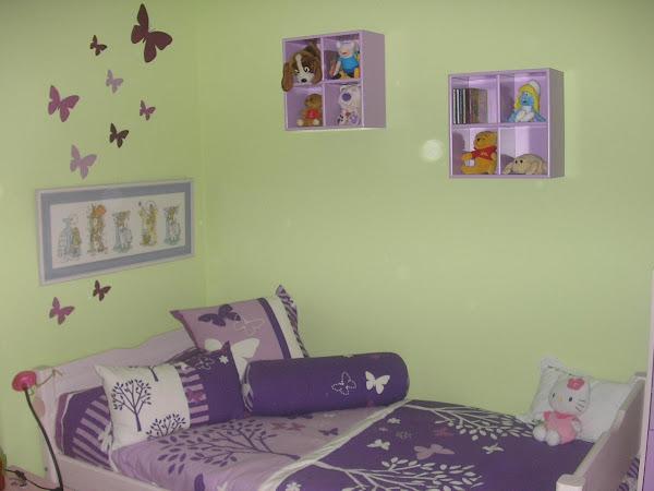 Decoracion habitacion decorar tu casa es - Habitacion infantil verde ...