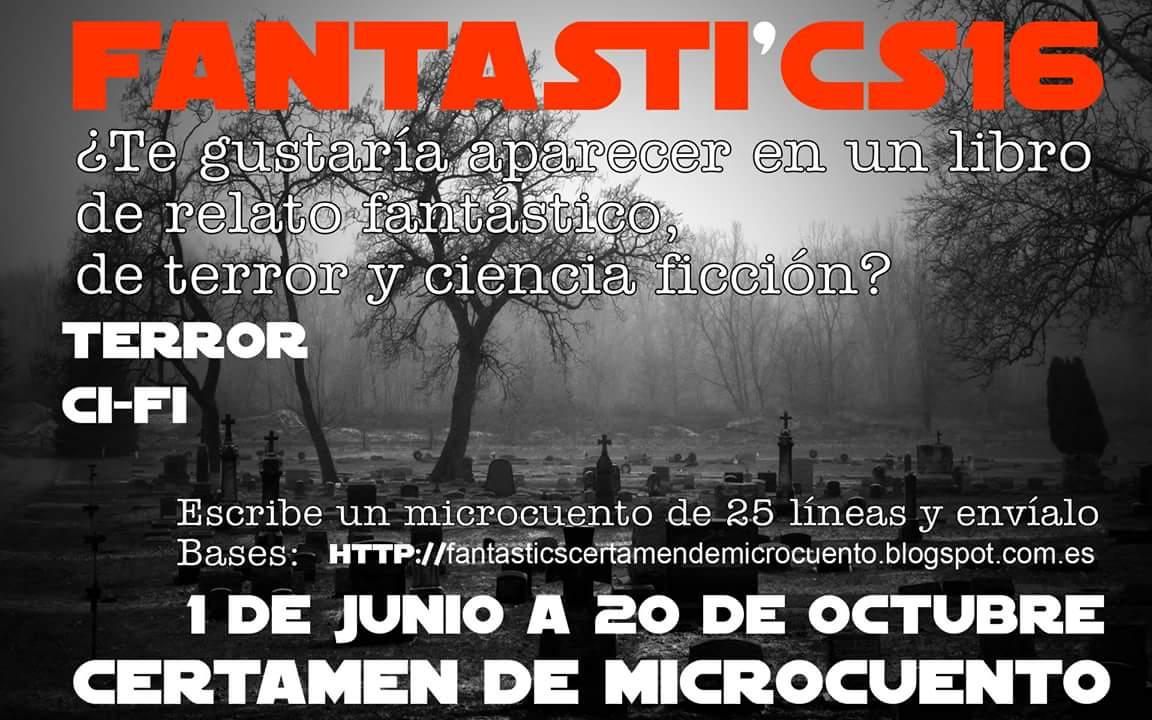 CERTAMEN DE MICROCUENTO FANTASTI'CS 16