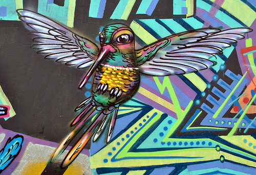 Ijonk Art: graffiti animals