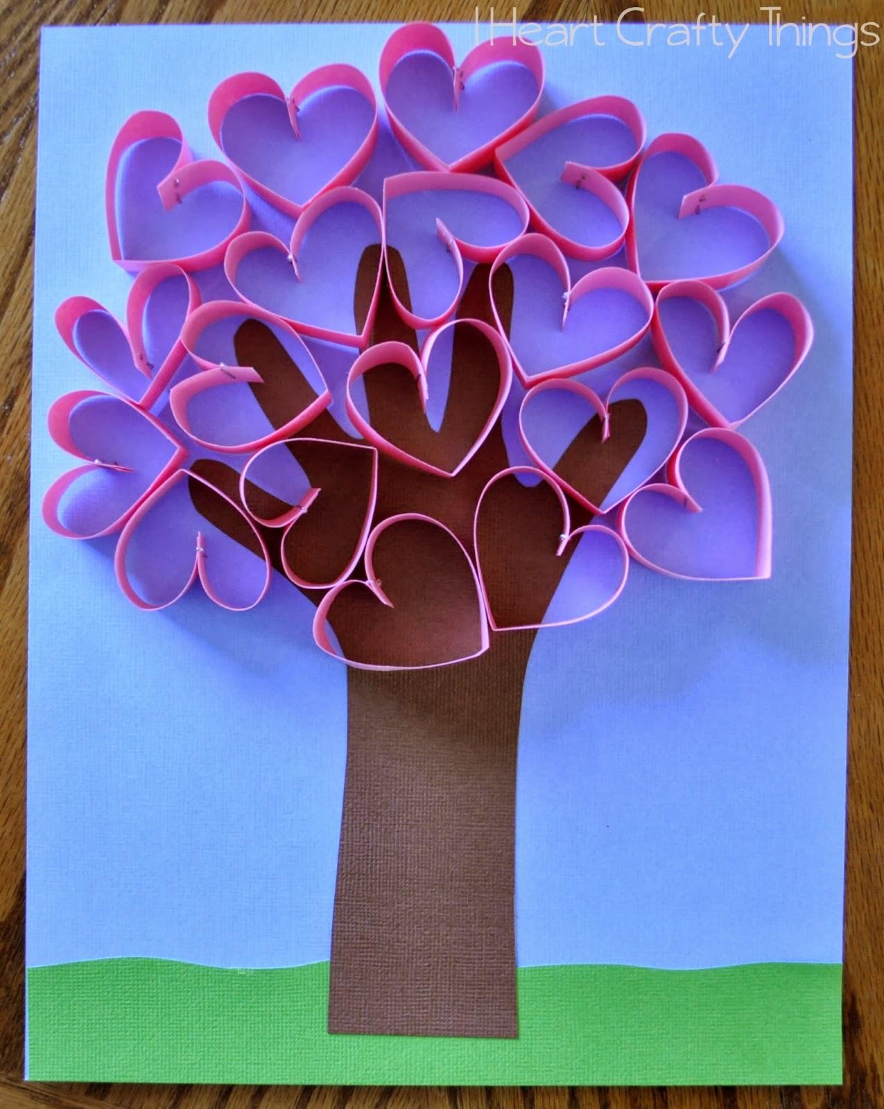 Как сделать деревья из бумаги фото