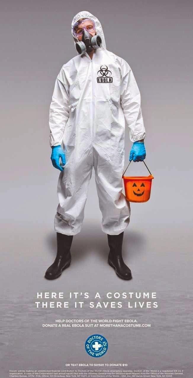 Publicidad creativa, Ebola