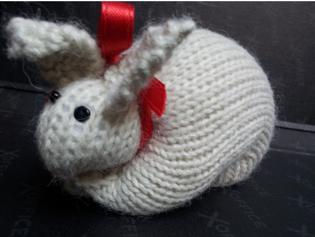 Paolo's Knitted Bunny