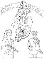 Spiderman Menerima Kunci Kota