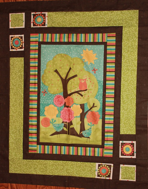 Quilt Ideas For Panels : Chickadee Shops: Frolic Panel Quilt