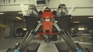 Cruden Roggel Formula One Demo Run Simulator