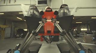 Cruden Roggel Formula One Demo Run Simulator