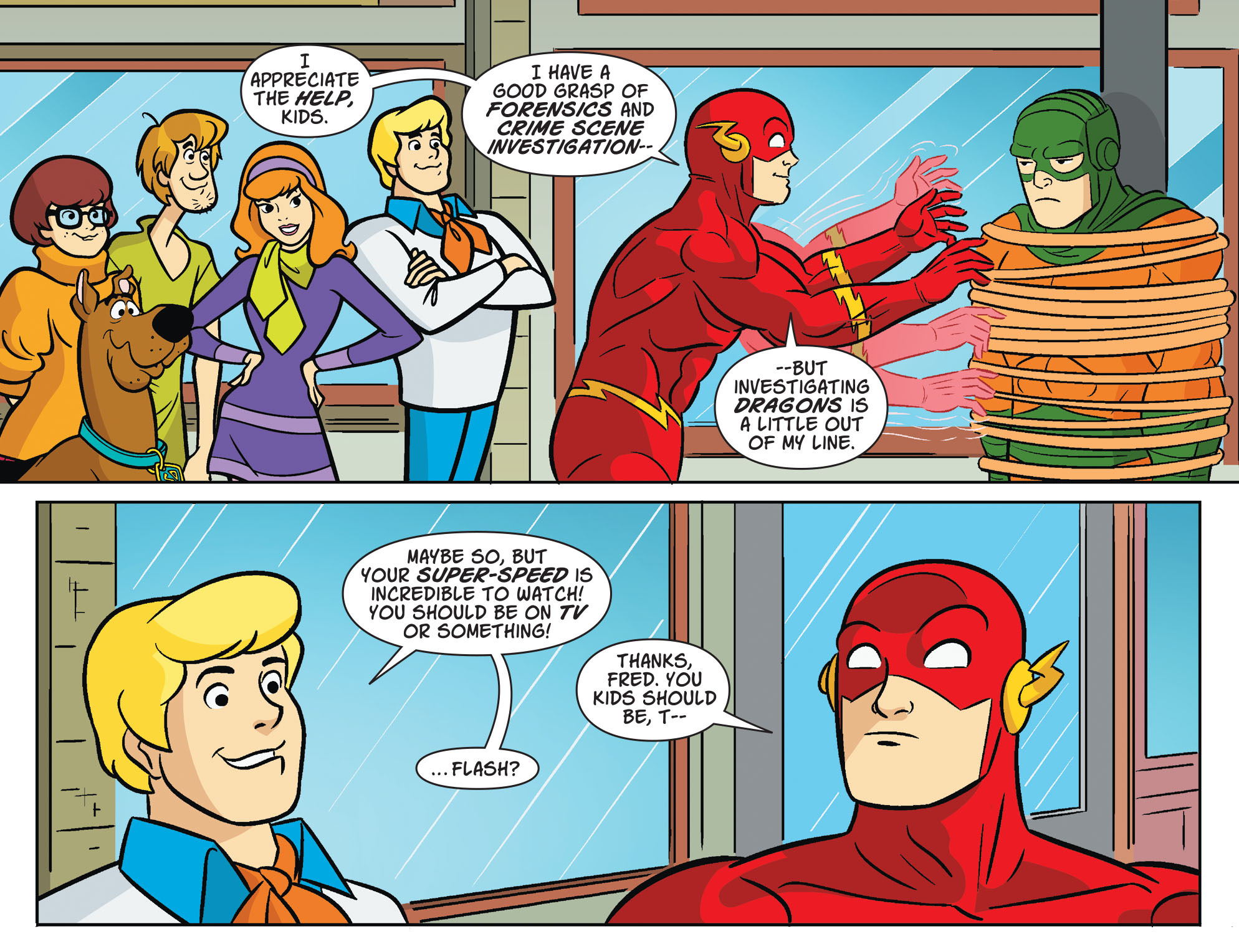 Read online Scooby-Doo! Team-Up comic -  Issue #29 - 8
