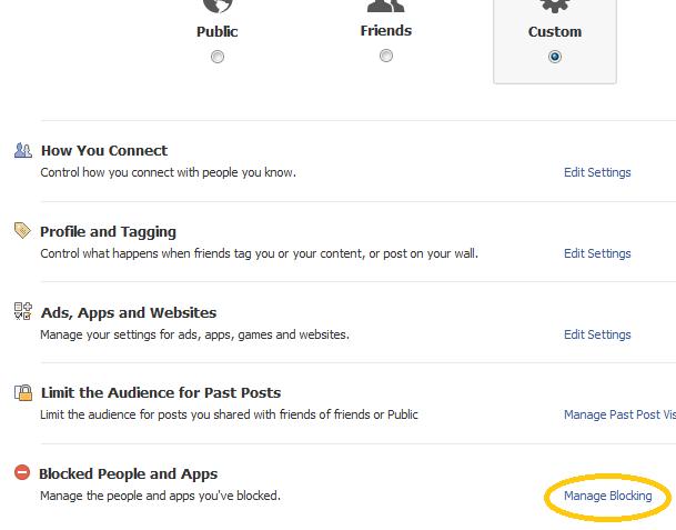 facebookプライバシー設定 ユーザとアプリ設定:ESETセキュリティブログ