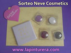 Sorteo Neve Cosmetics La Pinturera