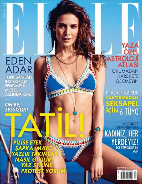 Model @ Eden Adar For Elle Turkey, July 2015