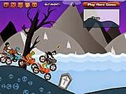 Zombie đua moto, game dua xe