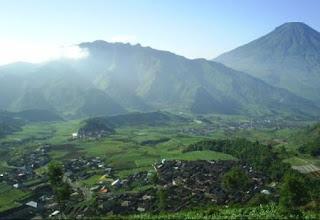 Highland Dieng Village - Indonesia Mountain
