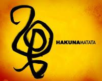 Hakuna Matata Roi Lion