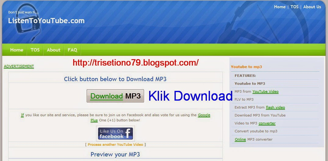 trisetiono79.blogspot.com: Cara Download Lagu Mp3 dari