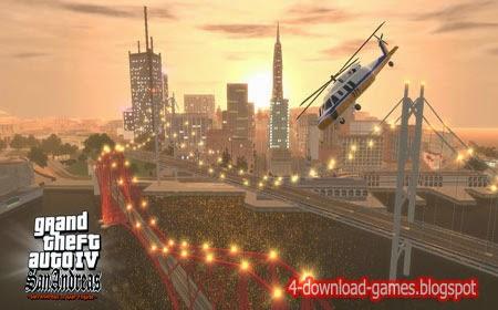 تحميل لعبة جاتا سان اندرس GTA IV San Andreas لعبة اكشن ومغامرة مجانا