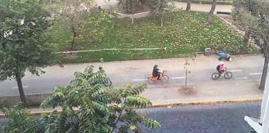 Carril Bici en Santiago de Chile