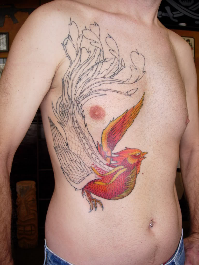 Phoenix Tattoo Designs Japanese