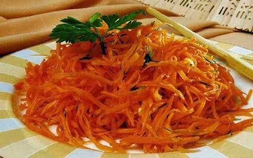 Блюда для детей салат из морковки фото