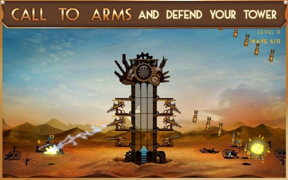 Download Games For Android Phone Steampunk Tower MOD APK (Unlimited Points)
