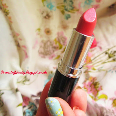 MUA lipstick from Superdrug. Budget makeup review, shade 7 coral coloured peach toned lipstick
