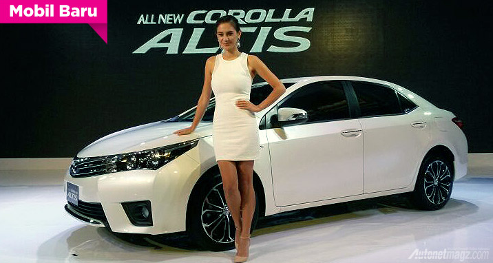 Foto Peluncuran All new corolla altis 2014 dengan model marissa